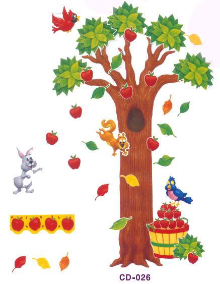 Apple tree for Apple tree classroom decoration